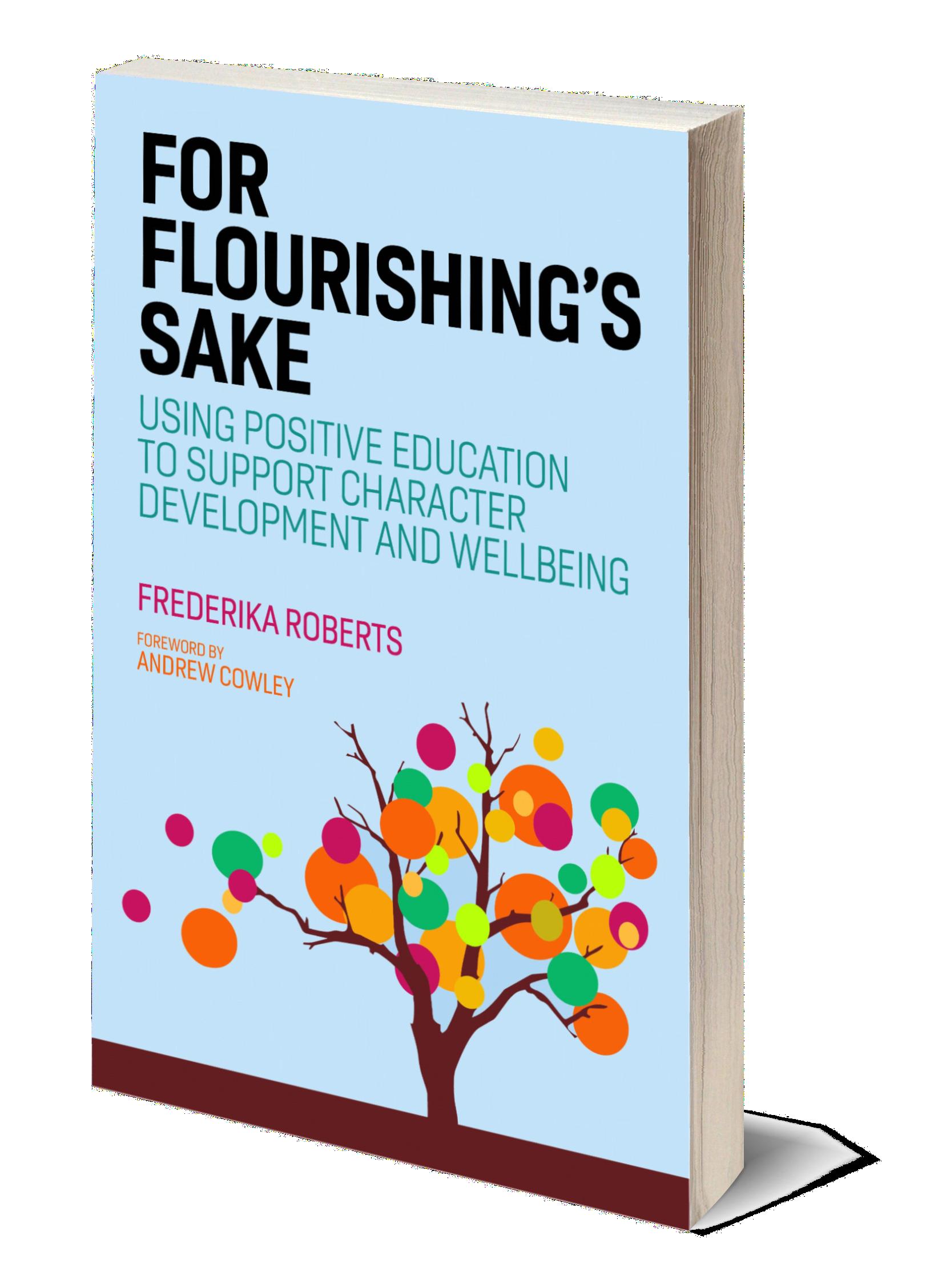 For Flourishing's Sake Book Cover 3D