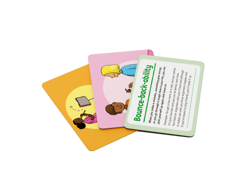 Character Toolkit Strength Cards - showing the cards