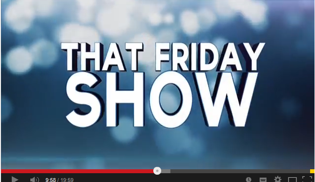 That Friday Show | Estuary TV | Recipe for Happiness