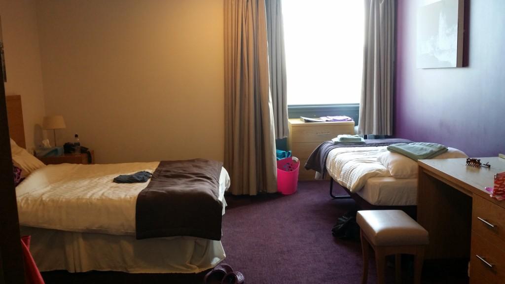 Large bedroom at Ronald McDonald House Birmingham | Heart surgery | Birmingham Children's Hospital