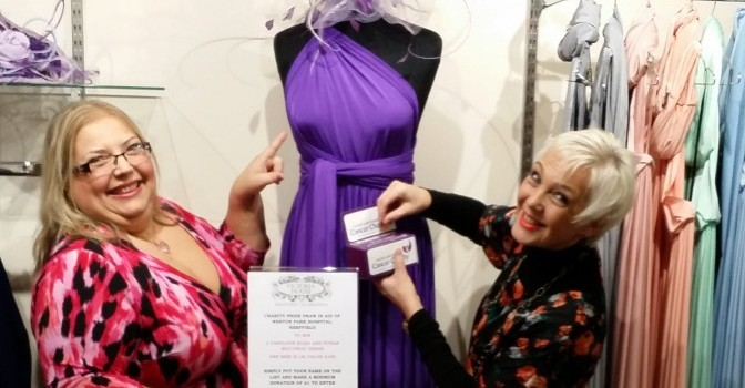 Funny Business Doncaster | Charity Fashion Launch Event | Fred & Tina 3