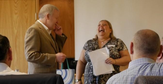 Frederika Roberts PSA Yorkshire President