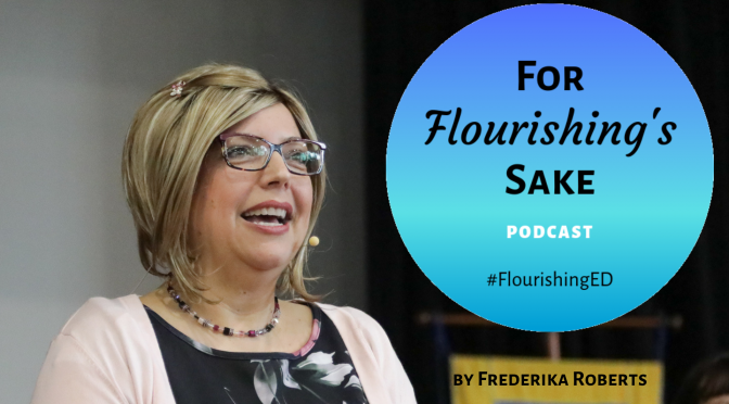 For Flourishing's Sake | Flourishing Podcast | Logo