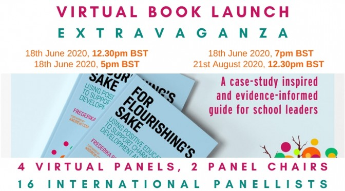 For Flourishing's Sake | Book Launch Promo Image - Twitter